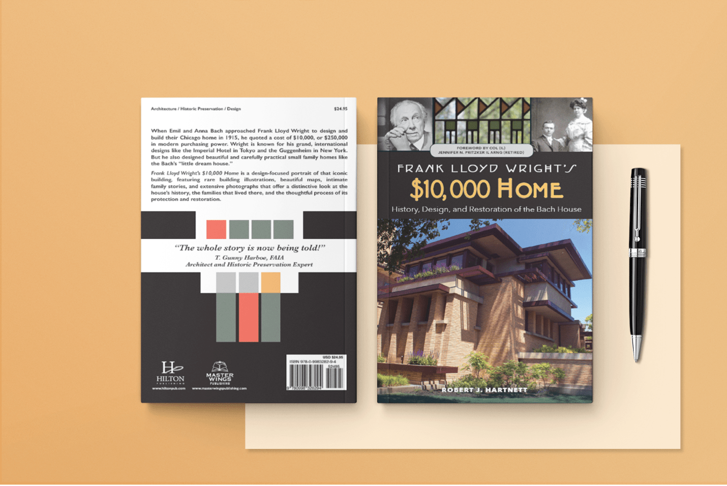 Frank Lloyd Wright book $10,000 home